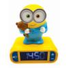 Despicable Me Minions Night Light Alarm Clock