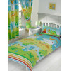 Roar Like a Dinosaur 4 in 1 Junior Bedding Bundle - Duvet, Pillow and Covers