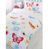 Butterfly Junior Toddler Duvet Cover & Pillowcase Set