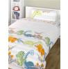 Dinosaurs Natural 4 in 1 Junior Bedding Bundle - Duvet, Pillow, Duvet Cover and Pillowcase