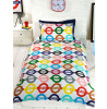 London Underground Tube Map Single Reversible Duvet Cover Set