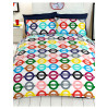 London Underground Tube Map Reversible Double Duvet Cover Set