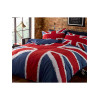 Union Jack Flag Double Duvet Cover Bedding Set