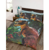 Jurassic T-Rex Dinosaur Double Duvet Cover Set - Exclusive Design