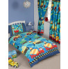 Construction Time Junior Duvet Cover and Pillowcase Set