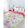 Owl and Friends 4 in 1 Junior Bedding Bundle Duvet and Pillow and Covers