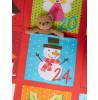 Advent Christmas Single Duvet Cover Bedding Set