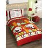 Santa's List Double Duvet Cover and Pillowcase Set