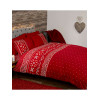 Nordic Christmas Red Double Duvet Cover Bedding Set