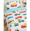 Trucks and Transport Junior Duvet Cover and Pillowcase Set