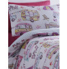 Glamping Single Reversible Duvet Cover and Pillowcase Set