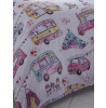 Glamping Camping Single Duvet Cover and Pillowcase Set