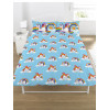 Rainbow Unicorns Double Reversible Duvet Cover and Pillowcase Set