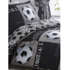 Shoot Football Single Reversible Duvet Cover and Pillowcase Set
