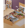 Howard Robinson Around the World Animal Selfie Single Bedding Set