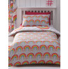 Clouds and Rainbows Single Duvet Cover Bedding Set