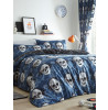 Pixel Skulls Single Duvet Cover and Pillowcase Set