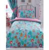 Mermaid Double Duvet Cover and Pillowcase Set