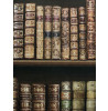 Antique Bookcase Wallpaper - Brown - 575208