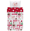 Elf on the Shelf 4 in 1 Junior Toddler Bed Bundle (Duvet and Pillow and Covers)