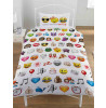 Emoji Multi Single Duvet and Pillowcase Set