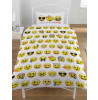 Emoji Multi Single Duvet and Pillowcase Set Smileys