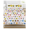 Emoji Multi Double Duvet and Pillowcase Set