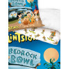 Flintstones Bedrock Bowl Single Reversible Duvet Cover Set