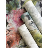 Florentine Floral Fabric Effect Wallpaper Group Image