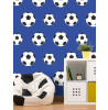 Football Wallpaper Bedroom - Dark Blue 9721 Belgravia Decor