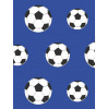 Blue Football Wallpaper - 9721 Belgravia Decor