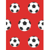 Red Football Wallpaper 9720 Belgravia Decor