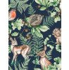 Woodland Animals Wallpaper Navy Graham & Brown 108568