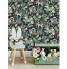 Graham & Brown Woodland Animals Wallpaper Navy 108568