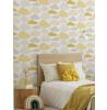 Clouds Wallpaper Graham & Brown Yellow / Grey 108267