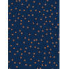 Confetti Wallpaper Navy / Copper Graham & Brown 108561