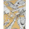 Papier peint Animaux de la jungle Graham & Brown Jaune 107691