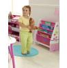 Pink Patchwork Bedroom Furniture Storage Set Sling bookcase
