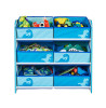 Dinosaurs 6 Bin Storage Unit Furniture