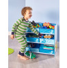 Dinosaurs Kids 6 Bin Storage Unit