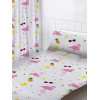 "Flamingos Curtains 72"" Drop"