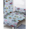 Farm Animals 4 in 1 Toddler Bedding Bundle Set (Duvet, Pillow and Covers)