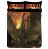 Godzilla Vs Ghidorah Double Reversible Copripiumino