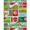 The Grinch 12 Days of Christmas Single Rotary Duvet Cover Set