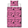 Hearts by Tiana Chic Single Reversible Duvet Cover Set