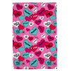 Hearts by Tiana Chic Fleece Blanket