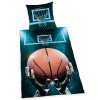Basketball Single Cotton Duvet Cover Bedding Set