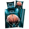 Basketball Single Duvet Cover and Pillowcase Set
