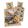 Wild Animals Selfies Single Duvet Cover and Pillowcase Set