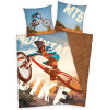 Mountain Bike Single Reversible Duvet Cover and Pillowcase Set
